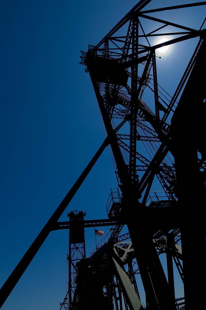 Blue Bridge Sun Light