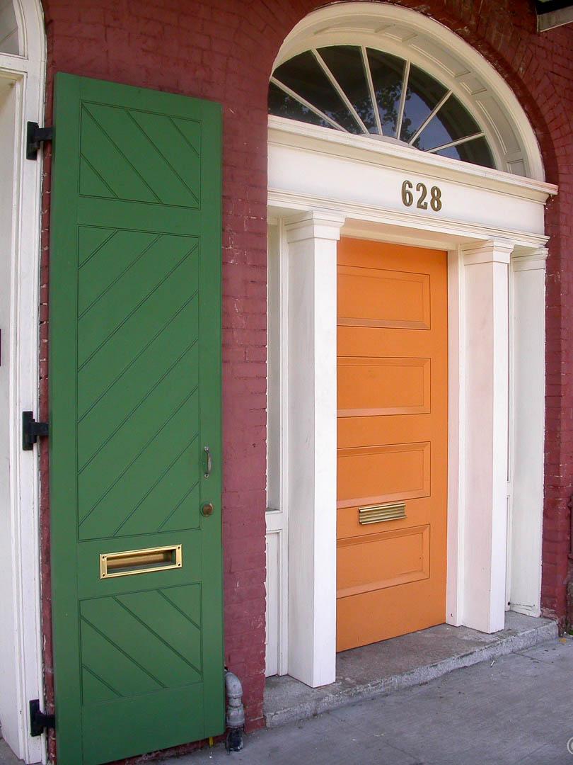 Orange and Arch