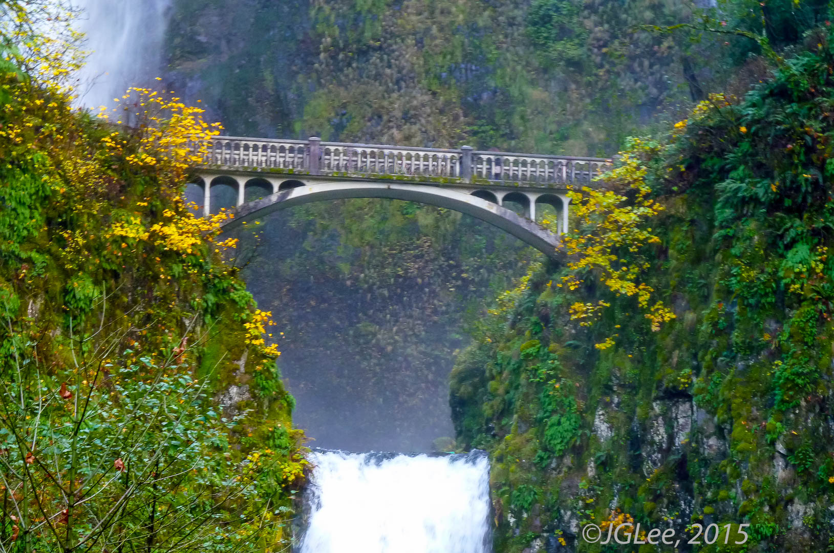 The Bridge at Multnomah Falls